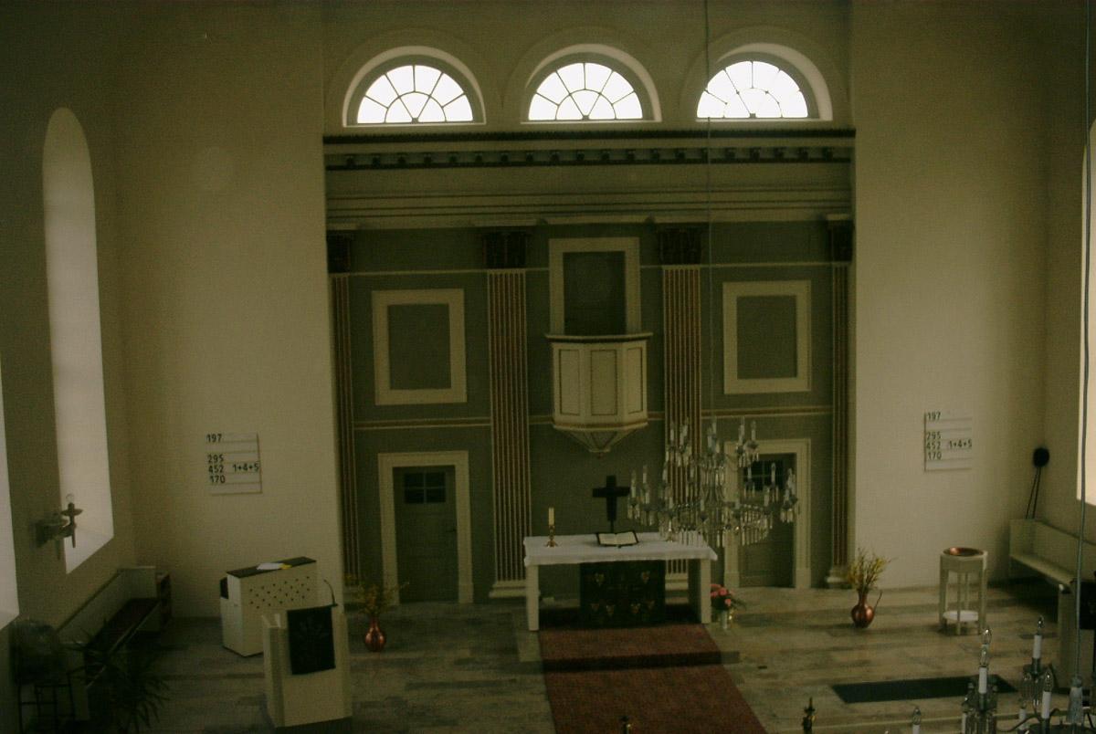 Restaurierung Kirche Fassade Tischlerei Grobe