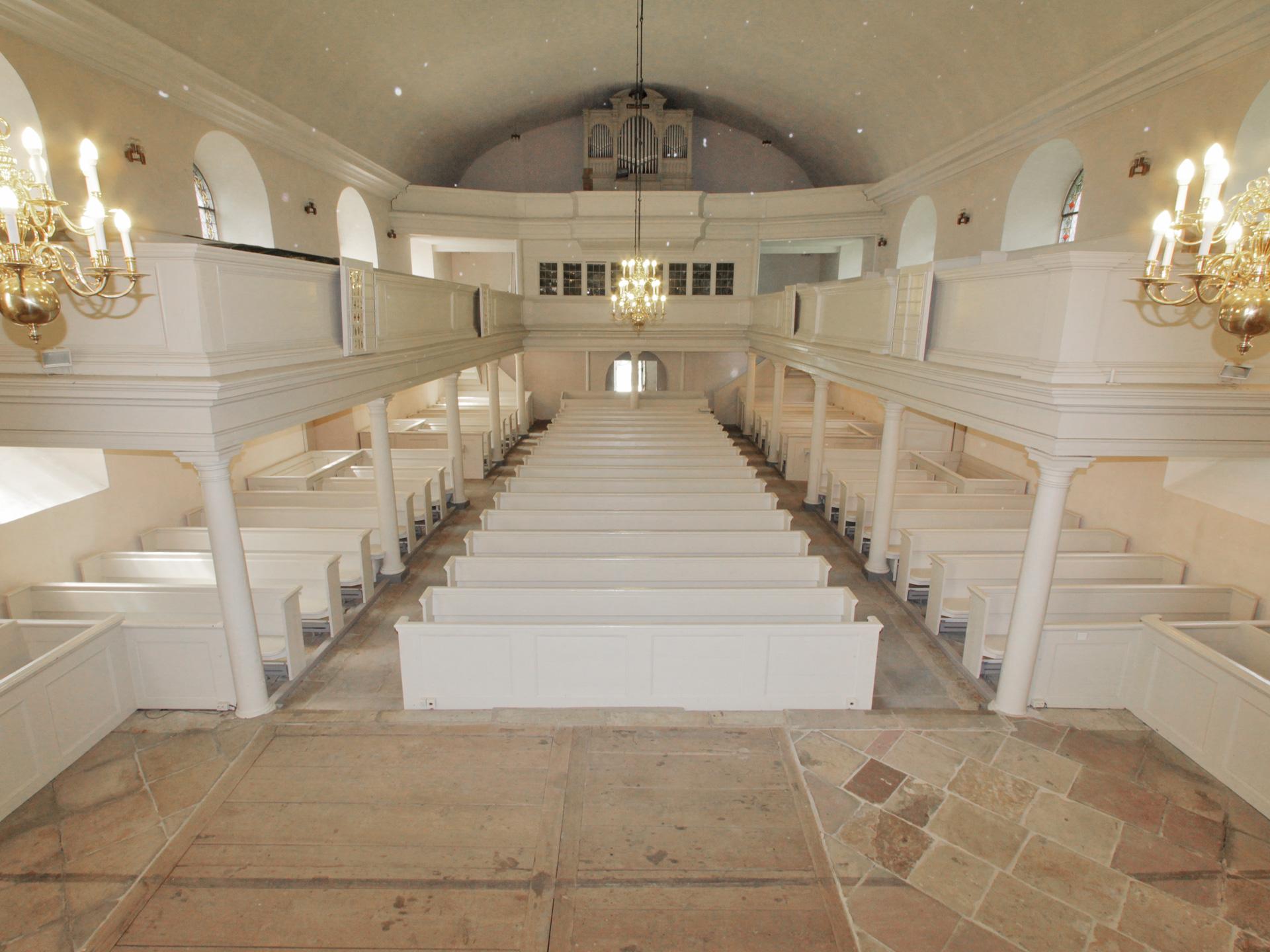Kirche Restaurierung Aufbereitung Tischlerei Grobe