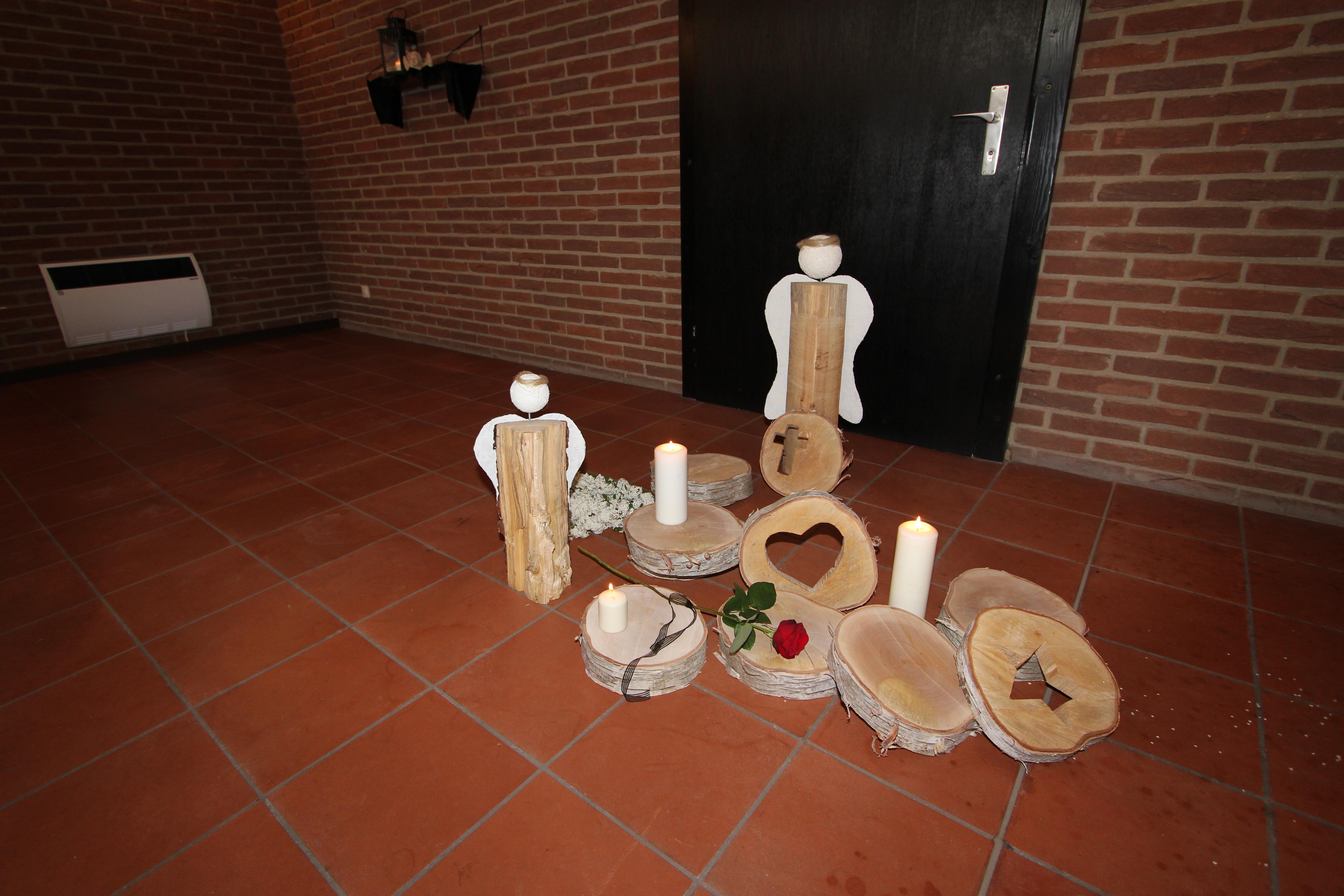Beerdigung Bestattung Holz Grabdekoration Grobe