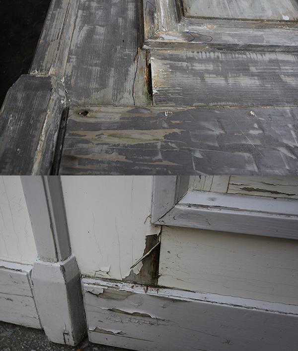 Restauration Tür Reperatur Tischlerei Grobe